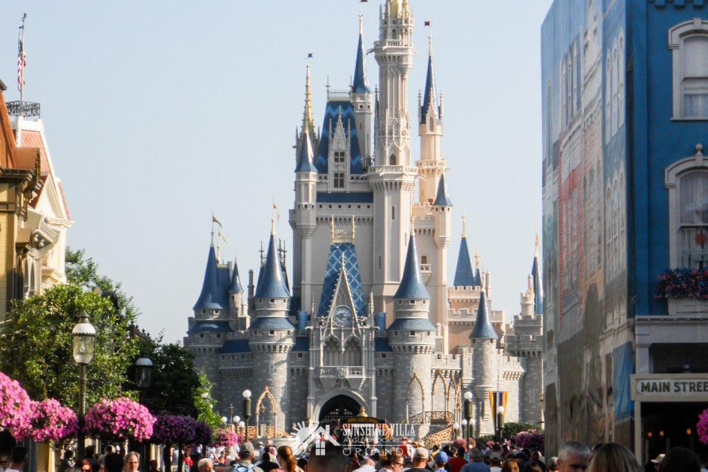 Cinderella's Castle at the Magic Kingdom at Walt Disney World in Orlando, Florida