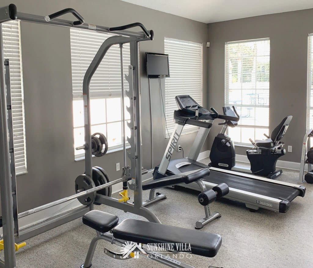 Fitness Center in Glenbrook Resort Clubhouse in Clermont, Florida near Orlando