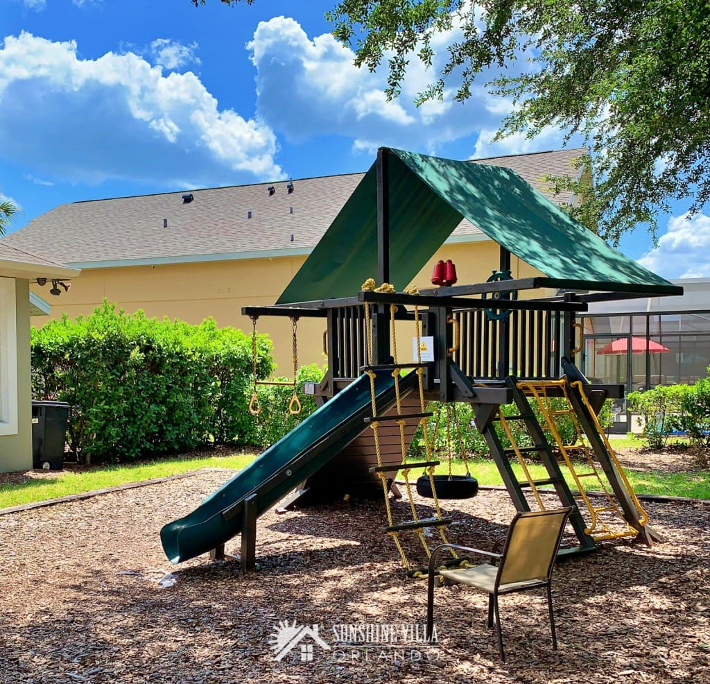 Kids Playground at Glenbrook Resort Clubhouse in Clermont, Florida