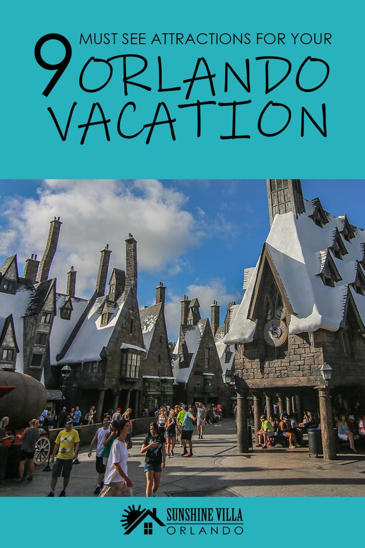 9 Must See Attractions for Your Orlando Vacation - When you stay at Sunshine Villa in Orlando, you are within driving distance of 9 amazing Florida attractions. Browse the list and book your stay.