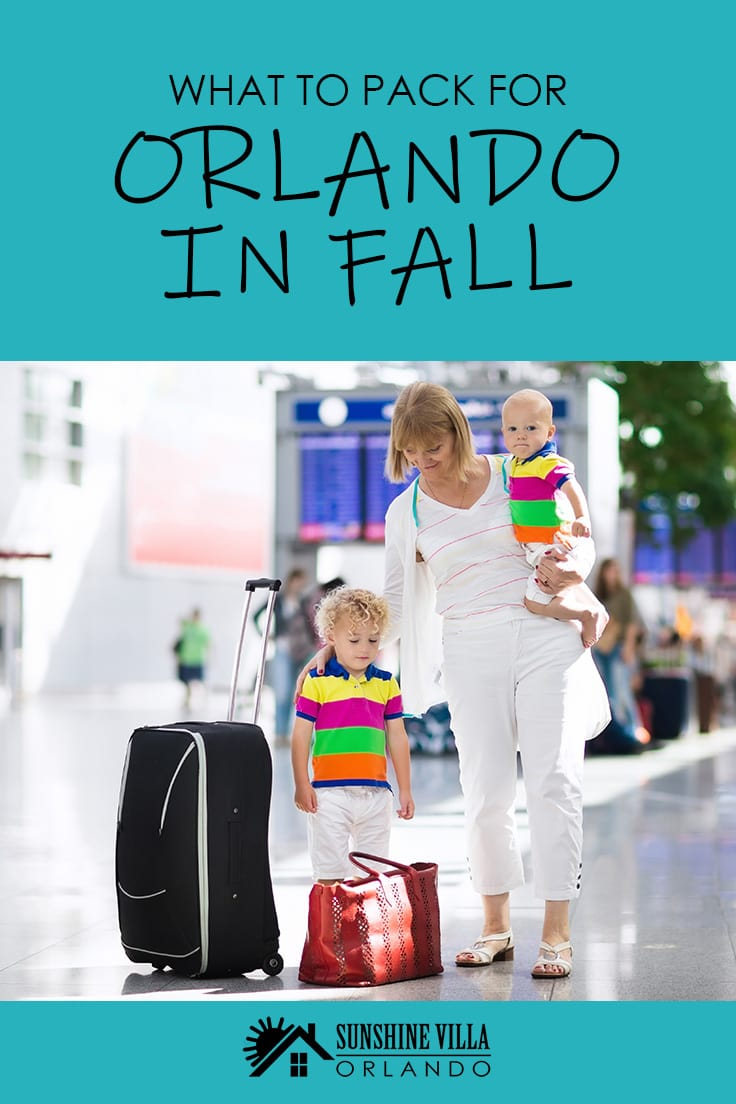 Looking for Florida travel tips? If you have ever wondered what to pack for your trip to Orlando in the fall then this vacation guide is just for you.