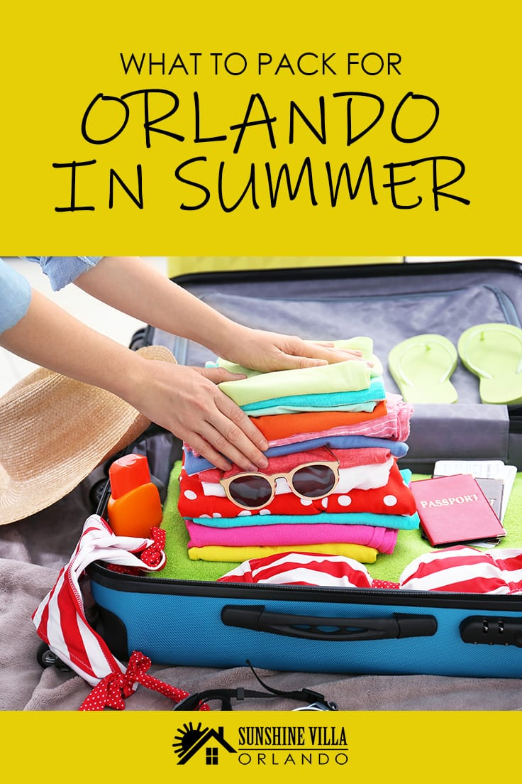 Looking for Florida travel tips? If you have ever wondered what to pack for your trip to Orlando in the summer then this vacation guide is just for you.